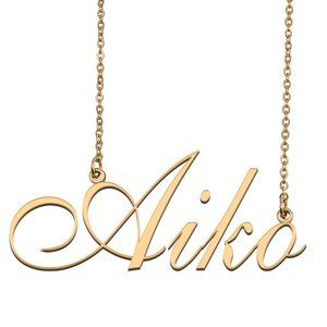 Custom Personalized Aiko Name Necklace